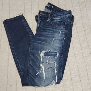 Distressed American Eagle Jegging size 6sh…